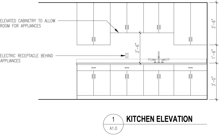 Kitchen elevation