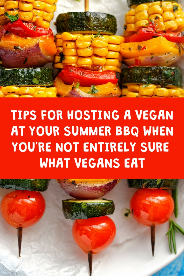 hosting a vegan at your summer barbeque