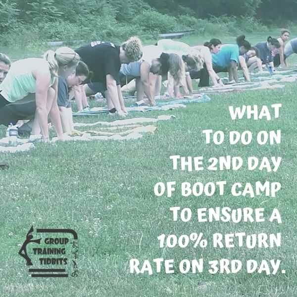 teaching boot camp fitness classes
